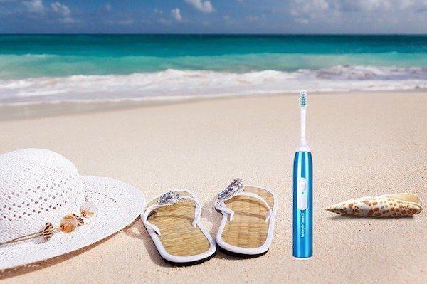 Zahnpflege im Urlaub